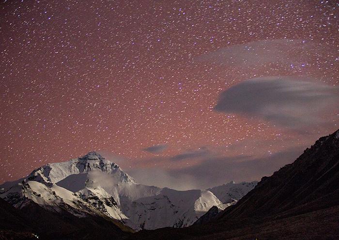 珠峰大本营4月天气