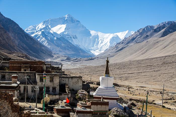 珠峰最佳观赏点-绒布寺